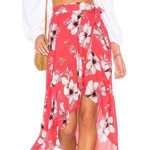 B.B. Dakota Kaliyah Wrap Skirt